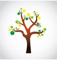 Tree graphic vector image vector image