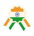happy independence day india badge proud national