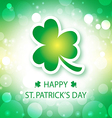 happy st patricks day greeting card 2 vector image vector image