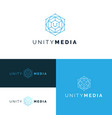 network logos set 2 vector image