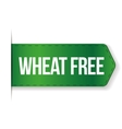 Wheat Free sign ribbon vector image