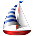 A boat vector image