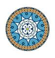 mandala icon image vector image