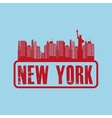 new york city design vector image vector image
