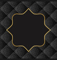 old-fashioned background with golden frame vector image