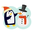 Penguin character vector image vector image