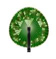 round fan grape vector image