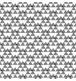 seamless geometric grey and white pattern vector image