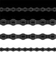 bicycle chain vector image vector image