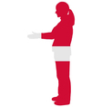 Danish handshake vector image