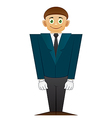 Good office man vector image vector image
