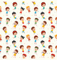 kids seamless pattern vector image vector image