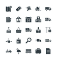 Logistic Delivery Cool Icons 1 vector image vector image