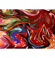 modern hand drawn artwork on water marble texture vector image vector image
