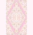 oriental pink pattern vector image vector image
