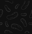 pattern background with pickles vector image vector image