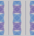 vertical colored seamless patterns with thailand vector image vector image