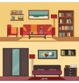 flat banners set abstract vector image