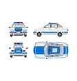 Police car 1 vector image