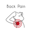 back pain with woman