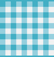 blue gingham seamless pattern perpendicular strips vector image
