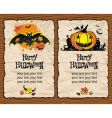 halloween textured backgrounds vector image