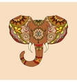 Hand Drawn of elephant vector image