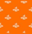 repair firm pattern orange vector image vector image