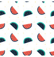 watermelon pattern for t-shirt vector image