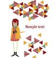 flat Set vector image vector image