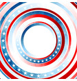 grunge concept usa flag abstract background vector image vector image