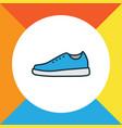 gumshoes colorful outline symbol premium quality vector image