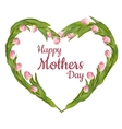 Happy Mothers Typographical Background EPS 10 vector image vector image