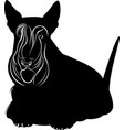 scotch terrier vector image