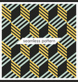seamless geometrical patterns abstract fashion vector image vector image
