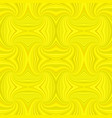 yellow seamless psychedelic geometrcial spiral vector image vector image