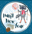 happy new year and merry christmas 2018 41 vector image vector image