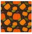 Pumpkin seamless pattern vector image vector image