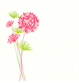Springtime hydrangea flower vector | Price: 1 Credit (USD $1)