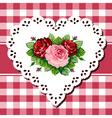 vintage bouquet vector image vector image