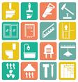 Set icons repair vector image
