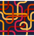 Abstract retro seamless pattern 003 vector image vector image