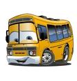 Cartoon School Bus vector image vector image