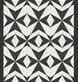 geometric seamless pattern in black and white vector image vector image