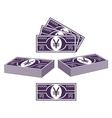 Japanese yen vector image vector image