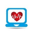 medicine online design vector image vector image
