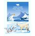 Nothern Landscape Wild Nature Poster Print vector image vector image