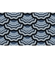 seamless scale wavy pattern vector image vector image