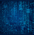 stream of binary code abstract digital binary vector image