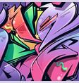 wild style graffiti seamless pattern vector image vector image